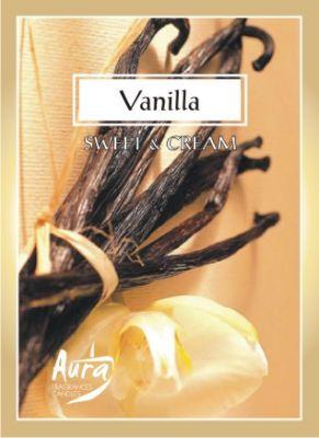 svíčka čajová vonná 6ks vanilka