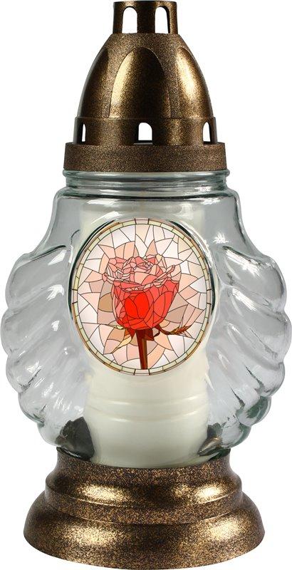 Skleněná lampa 3016 vitráž