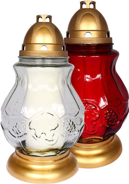 Skleněná lampa 990 s náplní p700
