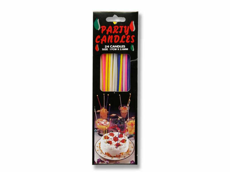 párty svíčky