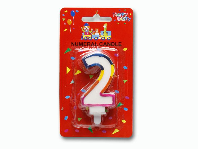 svíčka dortové číslo 2