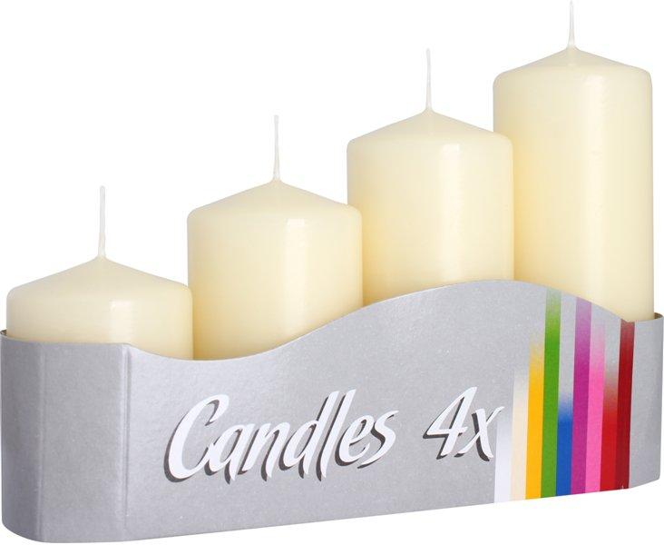 adventní svíčky schody krémová